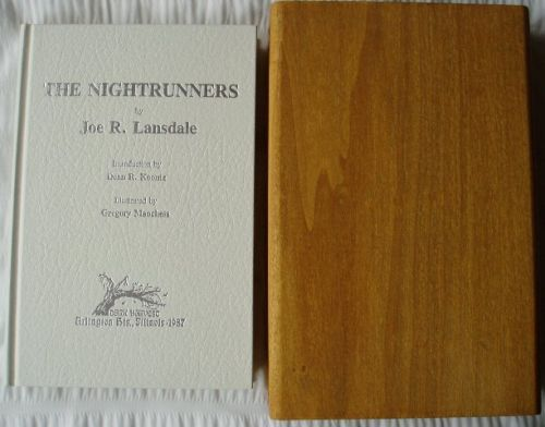 THE NIGHTRUNNERS - de-luxe limited edition in wooden box