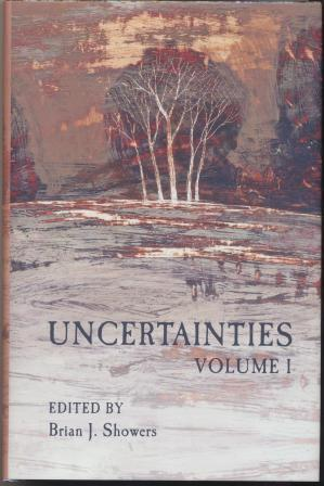 UNCERTAINTIES Volume 1 - signed limited edition