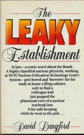 THE LEAKY STABLISHMENT - signed, dedication copy