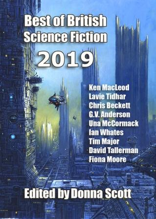 BEST OF BRITISH SCIENCE FICTION 2019 - signed limited edition