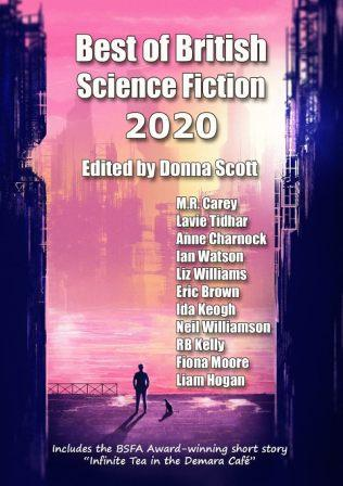 BEST OF BRITISH SCIENCE FICTION 2020 - signed, limited edition